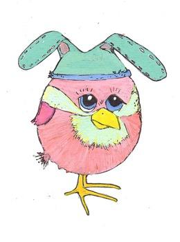 Bunny Hat Birdie