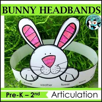 Bunny Headbands for Articualtion/Language