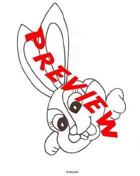 Bunny Holding an Egg Craftivity