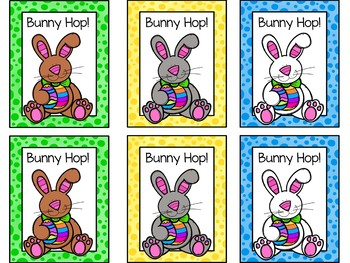 Bunny Hop! A Sight Word Game