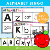 Alphabet Bingo - Print and Play Game