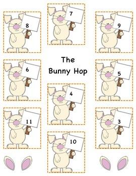 Bunny Hop Math Game