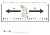 Bunny Hop Number Line