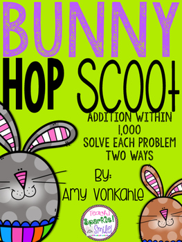 Bunny Hop Scoot:  Addition within 1,000