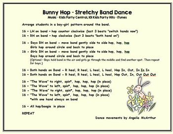 Bunny Hop Stretchy Band Dance