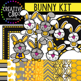 Bunny Kit {Creative Clips Digital Clipart}