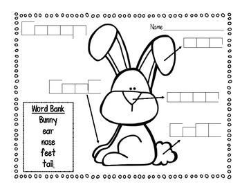 Bunny Labeling Freebie