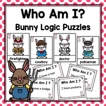 Bunny Logic Puzzles | Who Am I?