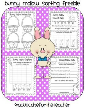 Bunny Mallows {FREE Printables}