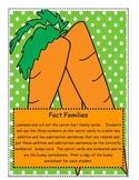 Bunny Math - Fact Families