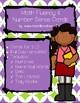 Bunny Math Fluency & Number Sense Cards   Spanish   1-10