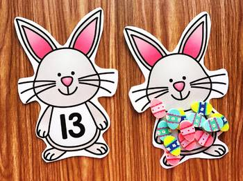Bunny Mini Eraser Activities