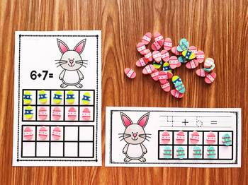 Bunny Mini Eraser Activities