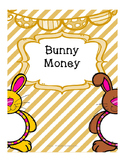 April and Bunny themed Money Math Practice