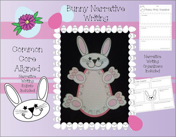 Bunny Narrative Writing Piece (Great for Easter Time)