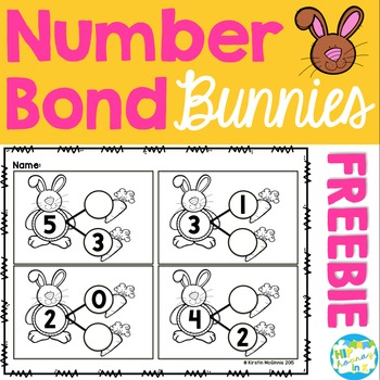 Bunny Number Bond FREEBIE