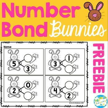 Bunny Number Bond FREEBIE