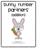 Bunny Number Partners (addition facts 7-9)