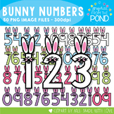 Bunny Numbers - Clipart that is Perfect for Easter