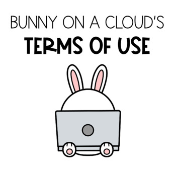 Bunny On A Cloud's Terms Of Use For Digital Products