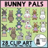 Bunny Pals Clip Art