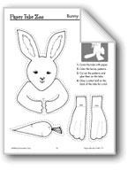 Bunny Paper Tube Animal