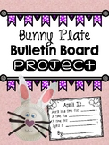 Bunny Plate Bulletin Board Project