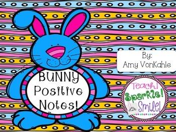 Bunny Positive Reinforcement Notes