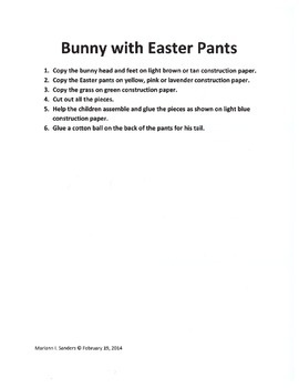 Bunny Projects for a Week