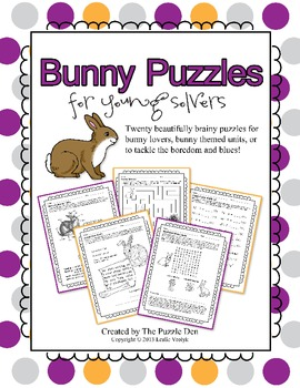 Bunny Puzzles for Young Solvers