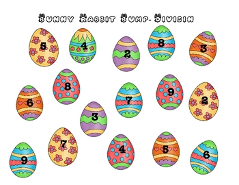 Bunny Rabbit Bump! Games to Practice Multiplying and Dividing