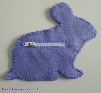 Bunny Rabbit Felt Sewing Craft Templates & Directions