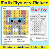 Easter Math Mystery Picture - Easter Bunny