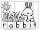 Bunny Rabbit Word Puzzles