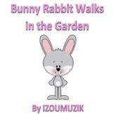 Easter Song - Bunny Rabbit Walks In The Garden - (Colors,