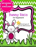 Bunny Race- a math game for beginners