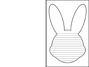 Bunny Shape Book - Free