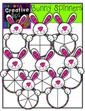 Bunny Spinners {Creative Clips Digital Clipart}