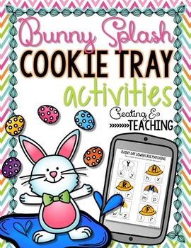 Bunny Splash Cookie Tray Activities