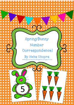 Bunny/Spring Number Correspondence
