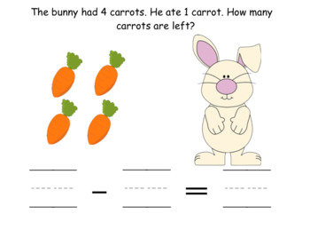 Bunny Subtraction (Smartboard File)