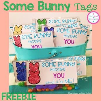 Bunny Tags Freebie