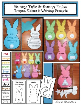 Bunny Tails & Bunny Tales: 2D Shapes, Colors, & Booklets
