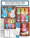 Easter & Spring Crafts: Bunny Tails & Tales: 2D Shapes, Colors, & Booklets
