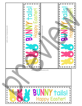 Bunny Tails Treat Tags