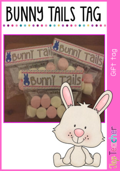 Bunny Tails - gift tag