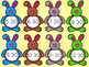 Bunny Telling Time to the Hour and Half Hour Matching Game