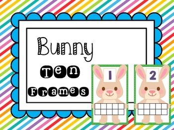 Bunny Ten Frames