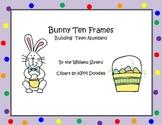 Bunny Ten Frames Building Teen Numbers