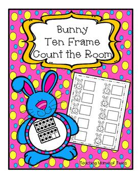 Bunny Ten Frames Write the Room